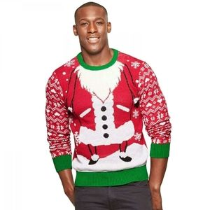 Men's Santa Christmas Family Ugly Sweater
